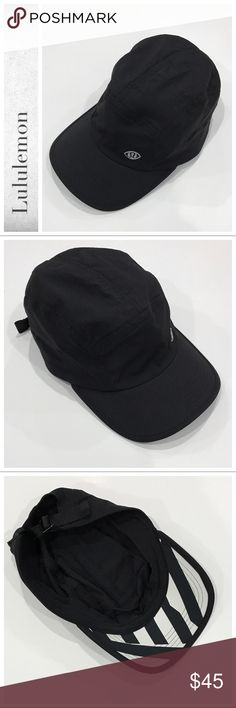 6d571f2c6e9 Lululemon Race To Win Hat SeaWheeze Black Which Way Sway. Excellent  condition. Tag