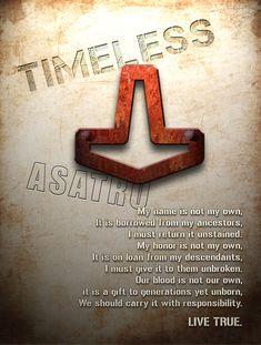 Asatru Grunge Poster by ~Vikingjack on deviantART