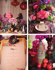 Bohemian party cute for baby shower or bridal shower