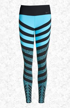 Nike 'Legendary - Mezzo Zebra' Training Tights