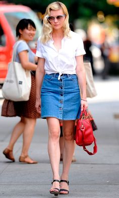 Kirsten Dunst out and about in New York