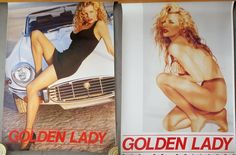 COLLECTOR - Lot 2 posters KIM BASINGER GOLDEN LADY - Officiels  2 posters 70 x 100cm.