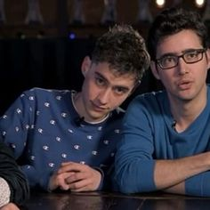 Olly & Emre from Year & Years , great band, check them out !!