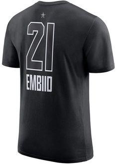 416fce763eb Jordan Men's Joel Embiid Philadelphia 76ers All-Star Jordan Player T-Shirt  & Reviews - Sports Fan Shop By Lids - Men - Macy's