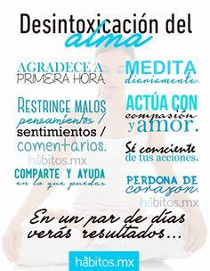 Desintoxicación del Alma, habitos.mx