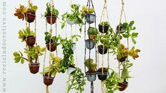 Mini jardín con cápsulas de café Dolce Gusto - Reciclado, reciclaje, upcycling 5