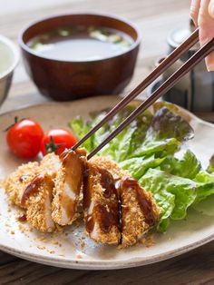Baked Tonkatsu- Japanese Panko Crumbed Pork Cutlet | Serve with Minute White or Brown Rice for a delicious dinner meal.