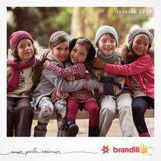 Uma mistura de tendências, cores e abraços <3 Esse é o inverno 2014 da Brandili para as crianças