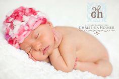 Valentine Merino Newborn Hat Handspun by BeautifulPhotoProps, $33.00