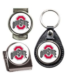 Look what I found on #zulily! Ohio State Buckeyes Key Chain Set #zulilyfinds