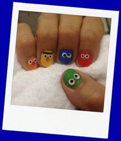 sesame street nail wraps