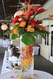 Tropical Centerpieces On Pinterest Tropical Centerpieces