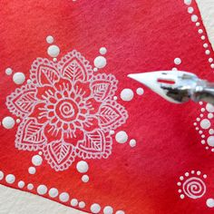 White Ink Mandala | Explore MagaMerlina's photos on Flickr. … | Flickr - Photo Sharing!