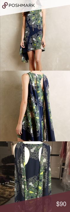 Anthro andromeda dress Never used in mint condition ! This sold out online and In stores last year. Classic piece and extremely flattering Anthropologie Dresses Midi