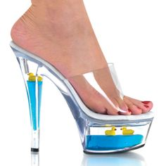 Goldfish stripper shoes