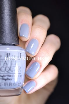Swatch of OPI - Cement the Deal from 50 Shades of Grey Collection by honeymunchkin.com