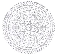 crochet doily pattern -Love in the stitches : Photo