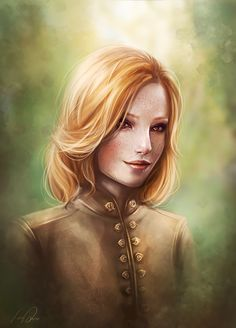 "anoratheirin: "" A commission of Alessandra Trevelyan for commanderliaras."