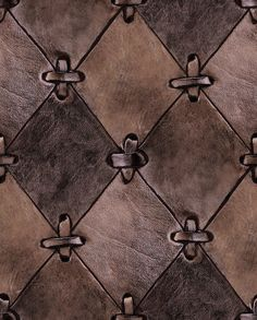 Tactile people will want to run their hand over this natural looking leather wallpaper. The wallpaper is of course made out of paper, but for those of Sewing Leather, Leather Craft, Sewing Patterns Free, Free Sewing, Art Du Cuir, Conception En Cuir, Nature Wallpaper, Amazing Wallpaper, Wall Wallpaper