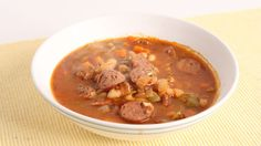 Quick Sausage & Bean Soup Recipe - Laura Vitale - Laura in the Kitchen Episode 1018 - YouTube