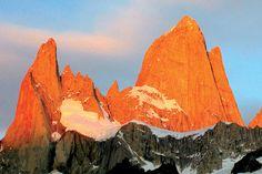 El Chaltén, in Los Glaciares National Park.
