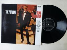 The Popular Duke Ellington Vinyl LP RCA NL89095 Made In Germany