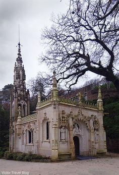 Chapel of Regaleira. Quinta da Regaleira. Sintra, Portugal.