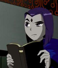 Tumblr Wallpaper, Raven Teen Titans Go, Raven Beast Boy, Bbrae, Animated Icons, Cartoon Profile Pictures, Cartoon Icons, Vintage Cartoon, Nightwing