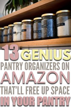 Pantry Closet Organization, Small Pantry Organization, Organized Pantry, Household Organization, Home Organization Hacks, Pantry Ideas, Pantry Storage, Closet Ideas, Kitchen Storage