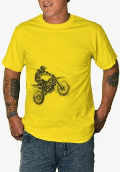 A new custom-designed shirt available for a limited time, exclusively at TeeBlaster.com Must Haves, Teeth, Biker, Feelings, Mens Tops, T Shirt, Fashion, Moda, Tee