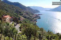 view of Verginate  village - Stone house -Bellano fraz.Verginate · Strada alta nuova per Oro Bellano frazione Verginate casa, Bellano, Lombardia 23822, Itália