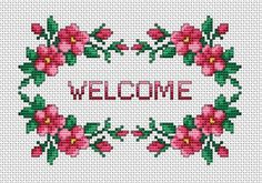 Welcome pattern (free pattern)