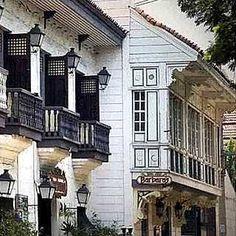 Fusion of native Philippine architecture and century Hispanic aesthetics. Philippine Architecture, Filipino Architecture, Colonial Architecture, Art And Architecture, Philippines Culture, Philippines Travel, Filipino House, Philippine Houses, Filipino Culture
