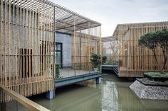 BAMBOO COURTYARD. Location: Shiqiao, Yangzhou, China;  architect: HWCD; client: Building And Construction Authority Of Yangzhou Economic And Technological Development Zone;  photo: T+E; year: 2012