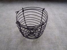 Výroba malého drátěného košíčku Wire