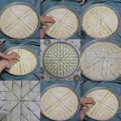 How to make baklava , Arabic Dessert, Arabic Sweets, Arabic Food, Cookie Desserts, Vegan Desserts, Dessert Recipes, Lebanese Recipes, Turkish Recipes, Kibbeh Recipe