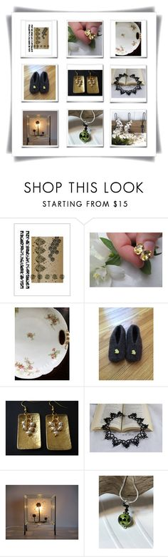 For Her! by therusticpelican on Polyvore featuring modern, contemporary, rustic and vintage