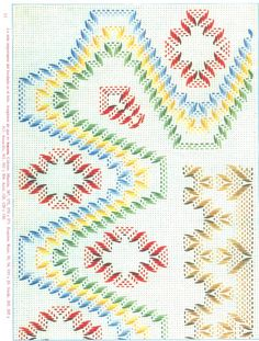 Punto Yugoslavo / Vagonite pattern
