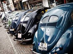 line of vw beetle split window..Re-pin brought to you by agents of #Carinsurance at #HouseofInsurance in Eugene, Oregon