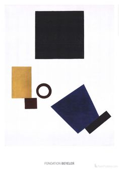 Kazimir Malevich- Suprematism: Self Portrait in two dimensions
