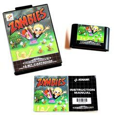 Sega Mega Drive Spiel Zombies in OVP