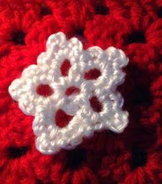 The Shtick I Do!: Crochet Star Snowflake Pattern
