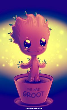 abstract, art, artwork, baby, beautiful, beauty, cartoon, character, colorful, comics, cute, cutest, cutie, galaxy, illustration, illustrator, little, marvel, photo, photoshop, smile, superhero, sweet, tree, world, groot, gaurdians of the galaxy