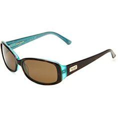 Kate Spade New York Women's Paxton Rectangular Sunglasses Kate Spade Sunglasses, Mirrored Sunglasses, Polarized Sunglasses, Oakley Sunglasses, Sunglass Frames, Black Stripes, Amazing Women, Aqua, Lens