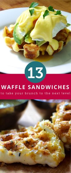 These waffle breakfast sandwiches are worth waking up for.
