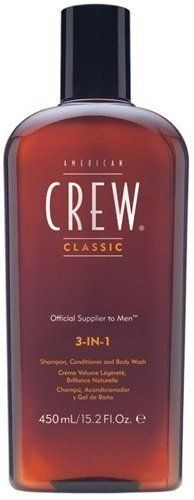 American Crew Men 3 in 1 Shampoo Conditioner & Body Wash 450ml/15.2oz  //Price: $ & FREE Shipping //     #hair #curles #style #haircare #shampoo #makeup #elixir