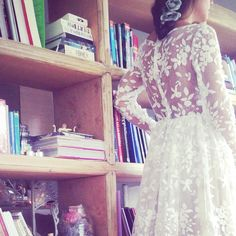 A beautiful LACE can be the great inspiration!!!   For all of our wedding gown creations please inbox us for details.