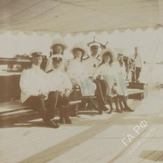 OTMA onboard the Polar Star, circa 1910