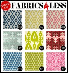 Some great fabric choices at amazing prices...thanks Kelly Market