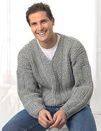 Men's Pull Over  Made to Order Knit Men's Pull by KnuttinButYarn, $199.99